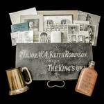 A set of Second World War period ephemera, equipment and photographs relating to Major W.A. Keith...