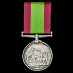 Afghanistan Medal 1878-1880, no clasp, awarded to Private John Fallow, 63rd West Suffolk Regiment...