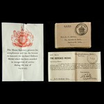 Great War 1914 trio and Secon. | London Medal Company