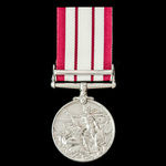 Naval General Service Medal 1909-1962, GVI 1st type bust, 1 Clasp: Palestine 1936-1939, awarded t...
