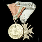 ​  Bulgaria - Kingdom of: Pair of awards comprising the Royal Order for Bravery, Soldier's Cross,...