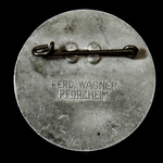 Germany - Third Reich: NSDAP Tag der Arbeit 1st May 1936 (Worker's Day) Tinnie Badge, bearing mar...