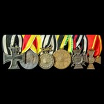 Germany - Imperial German Empire, and Baden: Group of 6 awards comprising: Iron Cross 1914 2nd Cl...