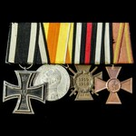 Germany - Imperial German Empire, and Baden: Group of 4 awards comprising: Iron Cross 1914 2nd Cl...