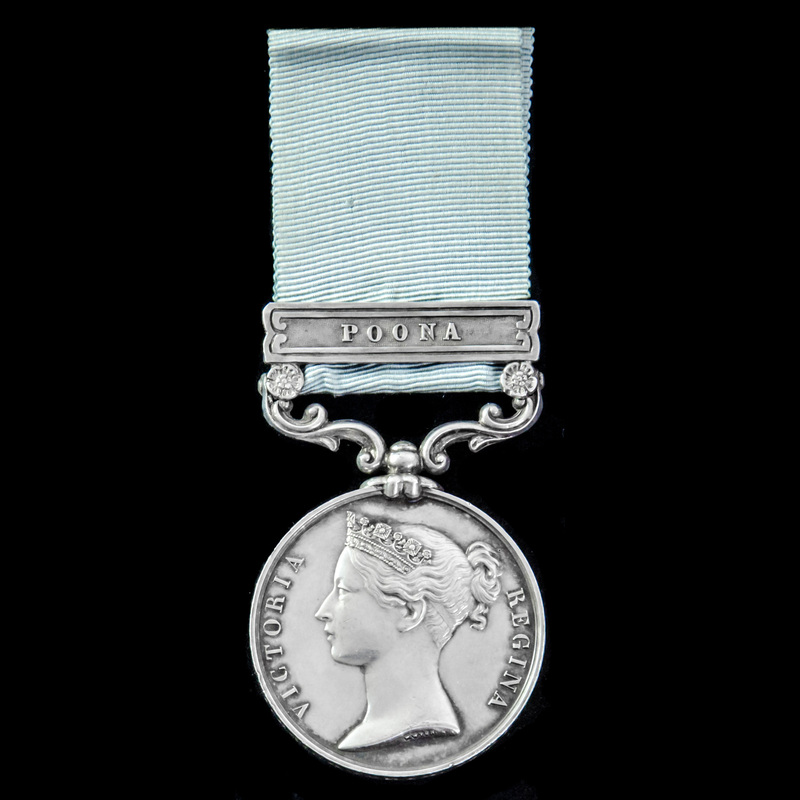The very rare Army of India M. | London Medal Company