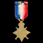 1914-1915 Star awarded to Private S.T. Lakelock, Royal Fusiliers, later Labour Corps, who saw ser...