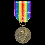 Cuba: Inter-Allied Victory Medal 1914-1919, official type 1, with French Chobillon 'AC' hallmark ...