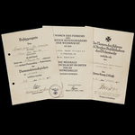 Germany – Third Reich: An Interesting and Scarce Millerovo December 1942 Iron Cross 2nd Class Doc...