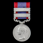 Charge of the 3rd Light Dragoons at Sobraon killed in action Sutlej Medal 1845-1846, reverse Mood...