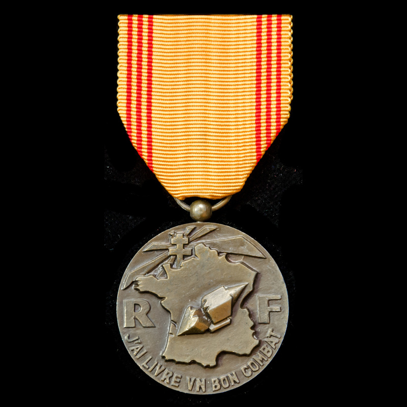 France: Medal of the Resister. | London Medal Company