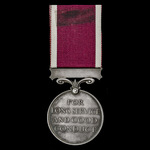 Regular Army Long Service and Good Conduct Medal, GVI 1st type bust, awarded to Sergeant T. Hirst...