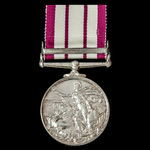 Naval General Service Medal 1909-1962, GVI 2nd type bust, 1 Clasp: Minesweeping 1945-51, awarded ...