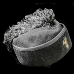 Italy - Fascist period: Second World War period Blackshirts Officer's fez cap, with gilt wire bul...
