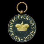 Germany – Imperial: Duchy of Saxe-Gotha and Altenburg: Saxe-Gotha and Altenburg Medal 1814-1815, ...