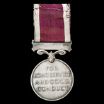 Regular Army Long Service and Good Conduct Medal, GVI 2nd type bust, awarded to Sergeant P. Burke...
