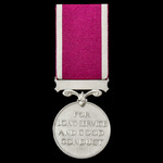 Regular Army Long Service and Good Conduct Medal, GVI 1st type bust, awarded to Sergeant C. Horse...