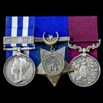 Master Baker's Suakin 1885 and long service group awarded to 2nd Class Staff Sergeant G.S. Woolle...