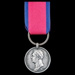 The regimentally important 'Household Brigade Charger' Killed in Action Waterloo Medal 1815, fitt...