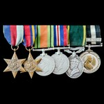 Second World War Burma, Territorial and Order of Saint John double long service group awarded to ...