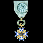 France – Benin Colony: Order of the Black Star, Officer Grade, gilt and enamels, and of later man...