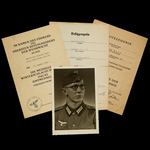 Germany – Third Reich: The Potentially Interesting Eastern Front Document Group to Obergefreiter ...
