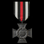 Germany - Imperial: Honour Cross 1914-1918 without Swords and with black finish as awarded to Nex...