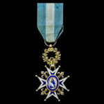 Spain – Order of Charles III, Officers Cross in silver-gilt and enamels, circa 1890.