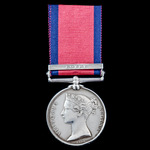 Military General Service Medal 1793-1814, 1 Clasp: Egypt, awarded to Private John Shipley, 10th L...
