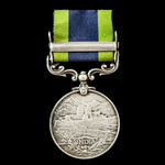 India General Service Medal 1908-1935, 1 Clasp: Burma 1930-32, awarded to Private W.A. Brimble, 2...