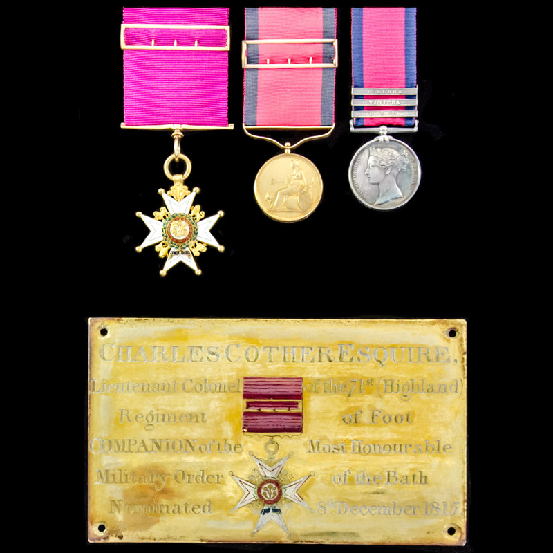 The exceptional Field Officer. | London Medal Company