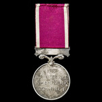 Regular Army Long Service and Good Conduct Medal, GVI 1st type bust, awarded to Sergeant G. Venab...