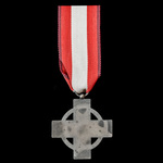 Germany – Third Reich: Fire Brigade Honour Decoration 2nd Class in Silver, silvered finish and en...