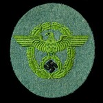 Germany – Third Reich: Fire Service Sleeve Patch