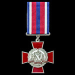 Ukraine: Medal for 10 Years Service in the troops of the Ministry of Internal Affairs of the Ukra...