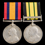 South Africa Boer War and Somaliland 1902-1904 officer's pair awarded to Lieutenant later Captain...