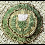   The Most Ancient and Noble Order of the Thistle, Mantle Star of the order, K.T., circa 1840, m...