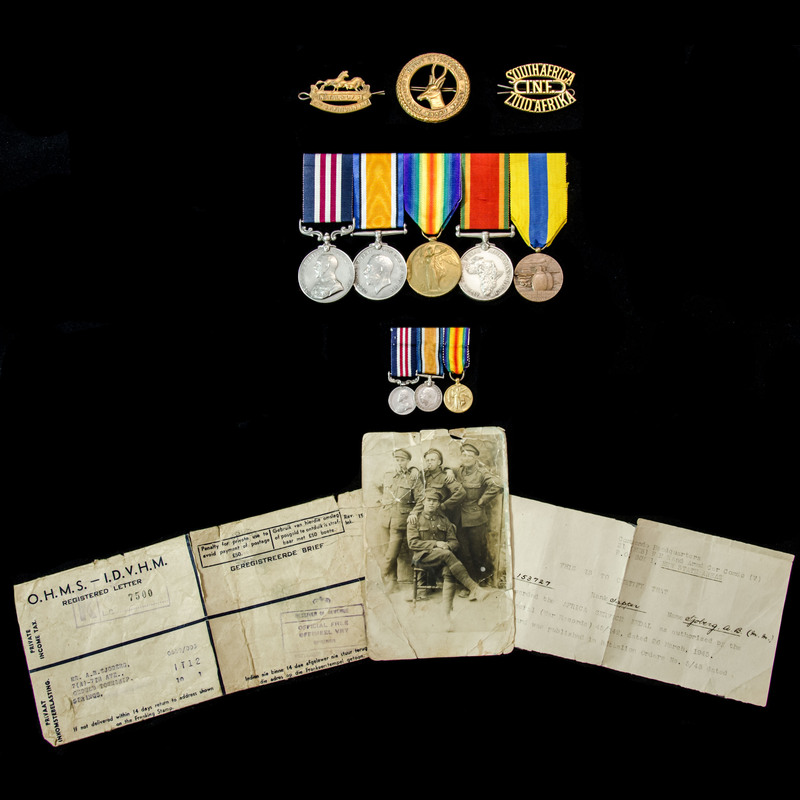 The very good South African F.   London Medal Company