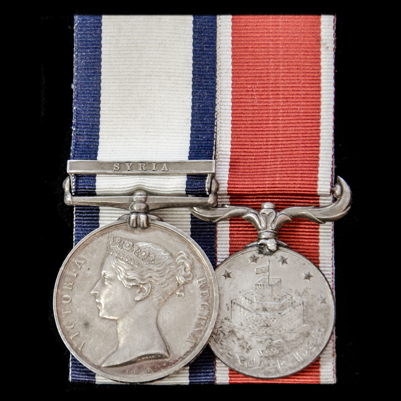 The fine Syria 1840 operation. | London Medal Company