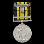 Africa General Service Medal 1899-1956, EIIR bust, Clasp: Kenya, awarded to Leading Air Craftsman...