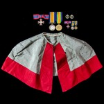 Great War Home Service 1916 Royal Red Cross 2nd Class and Egypt 1917 to 1919 Nursing Sister's gro...