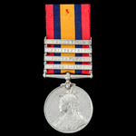 Queen's South Africa 1899-1902, 4 Clasps: Cape Colony, Paardeberg, Driefontein, Transvaal, awarde...