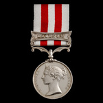 Indian Mutiny Medal 1857-1859, 1 Clasp: Lucknow, awarded to Able Seaman Antonio Casacubert, Royal...