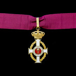 Greece: Royal Order of George I, 3rd Class, Commanders neck insignia, Civil Division, silver-gilt...