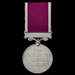 Regular Army Long Service and Good Conduct Medal, GVI 1st type bust, awarded to Corporal C. Wilso...
