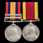 South Africa Boer War Relief of Ladysmith Naval Brigade and China Boxer Rebellion pair awarded to...