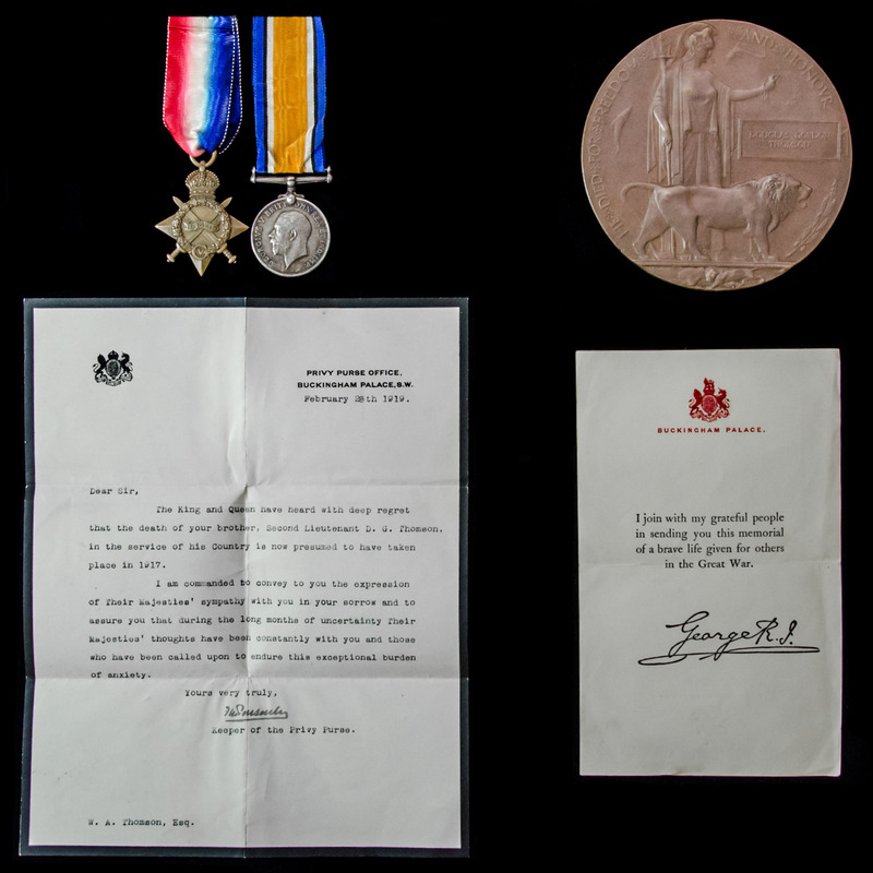 The Thomson family group to b. | London Medal Company