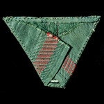 Germany - Third Reich: Wehrmacht Heer Army Other ranks bevo cloth cap insignia. Some sticking and...