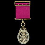 The Most Honourable Order of the Bath, Companion, C.B., Civil Division, breast badge, silver-gilt...