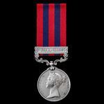 India General Service Medal 1854-1895, 1 Clasp: Burma 1885-7, awarded to Able Seaman Charles Cull...