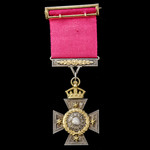 New Zealand Cross, and old period 'official' specimen, and engraved as such on the reverse, silve...